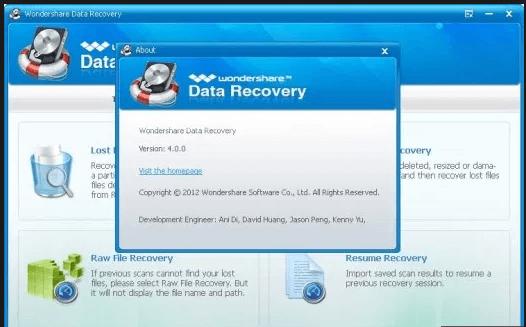 Wondershare Data Recovery 6.6.1 Keygen