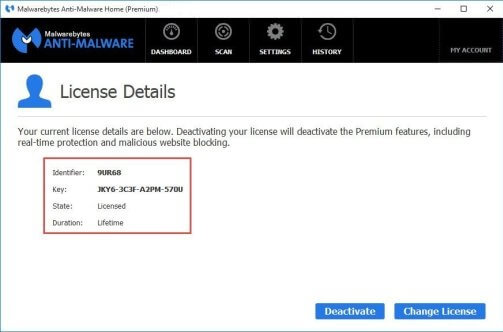 Malwarebytes Anti-Malware 4.0.4 License key