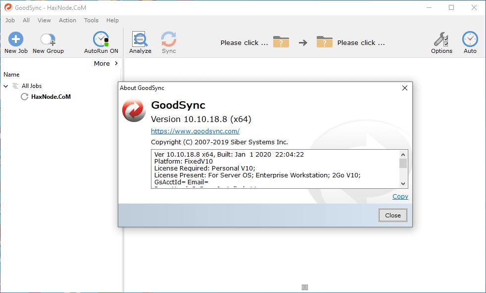 GoodSync v10.10 Enterprise key