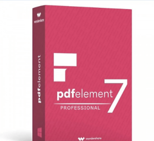 Wondershare PDFelement Pro 7.4.5 crack