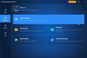 AOMEI Backupper Professional 5.6.0 full version