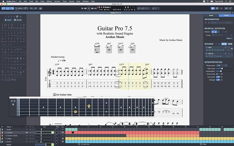 Guitar Pro 7.5.3 (2020) key