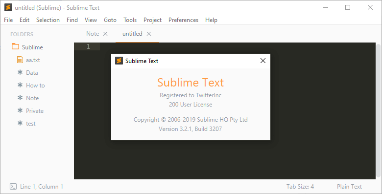 Sublime Text 3.2.2 Build 3211 crack
