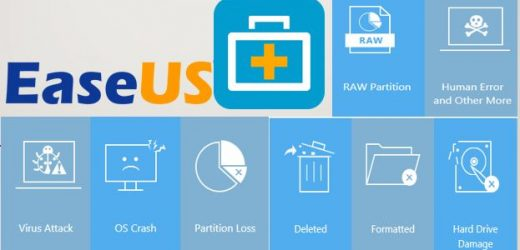 EaseUS Data Recovery Crack 14.2 + License Code Free Download